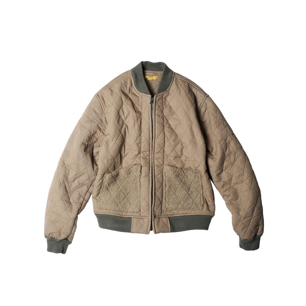 TEDDY SOUVENIR JACKET [TAN BEIGE]