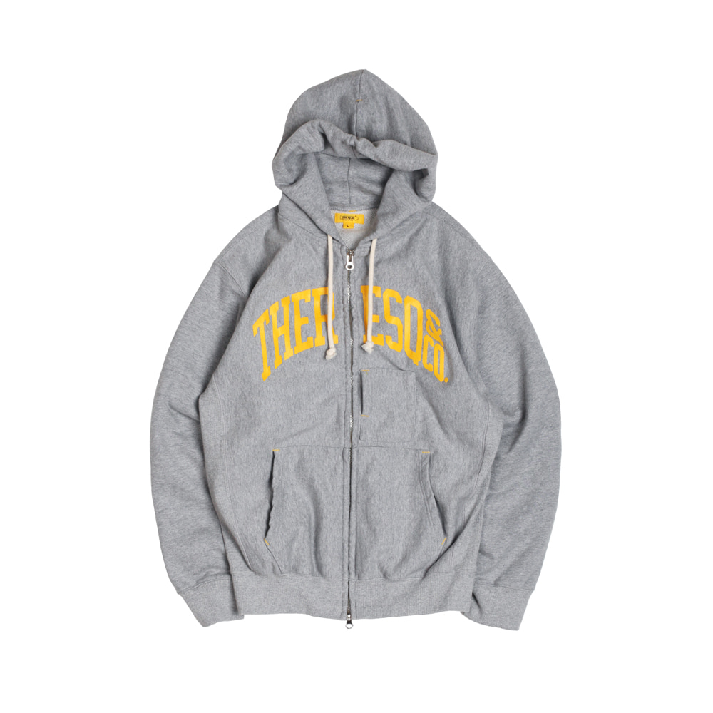 BALLGAME ZIP-UP [M/GREY]