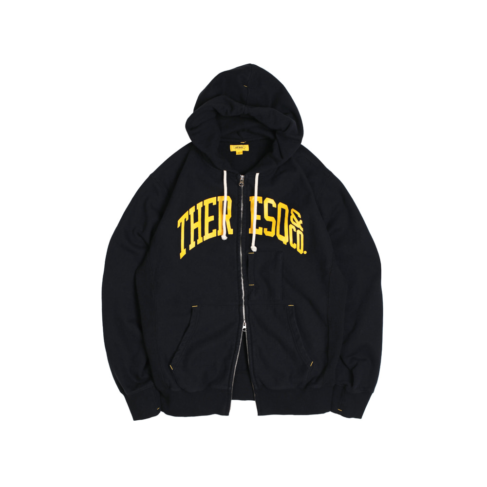 BALLGAME ZIP-UP [BLACK]