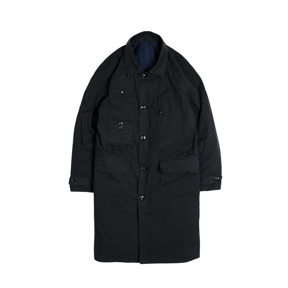 LAMBARENE SHOPCOAT [DARK NAVY]