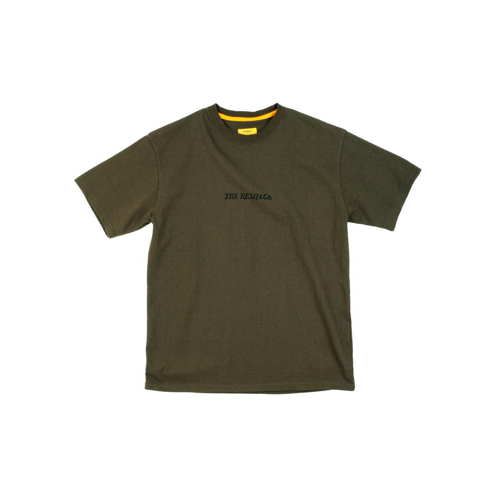 MINI LOGO GRAPHIC TEE [KHAKI]