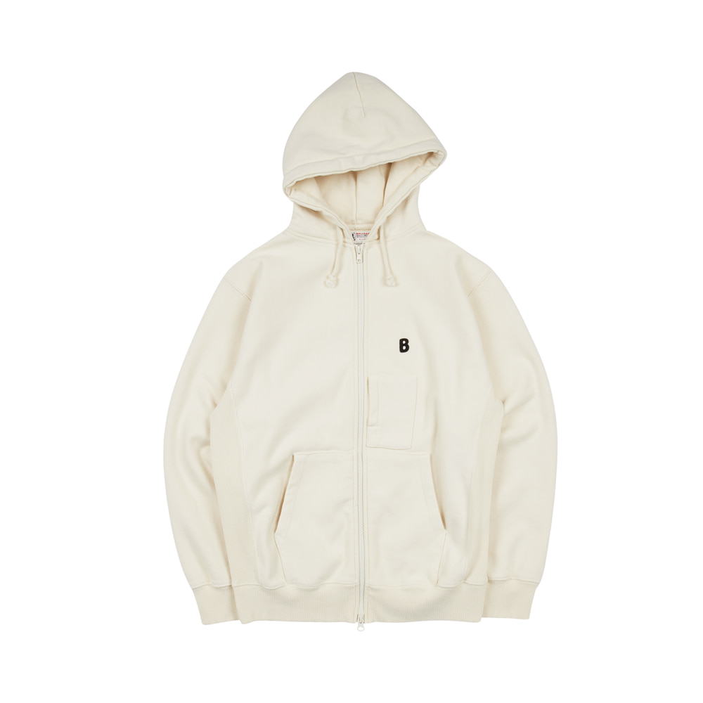 BALLGAME ZIP-UP [IVORY]