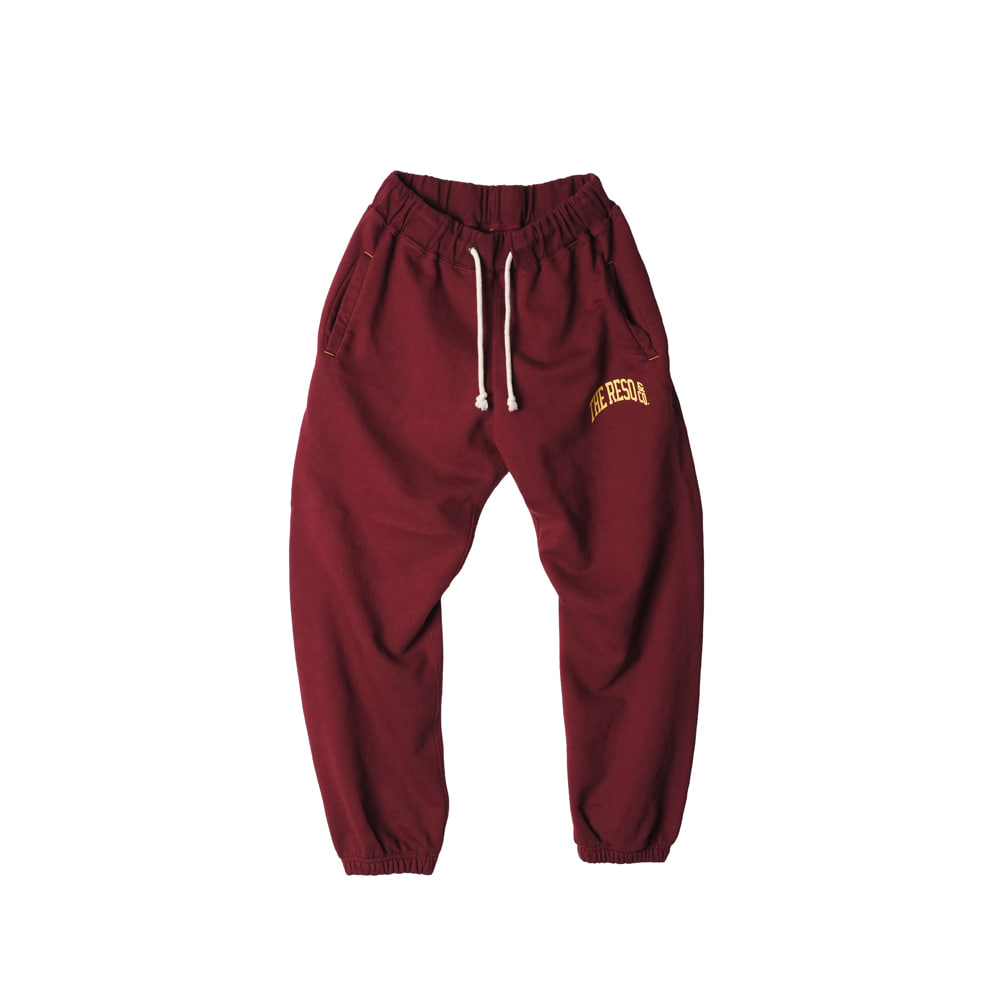 BALLGAME PANTS [BURGUNDY]