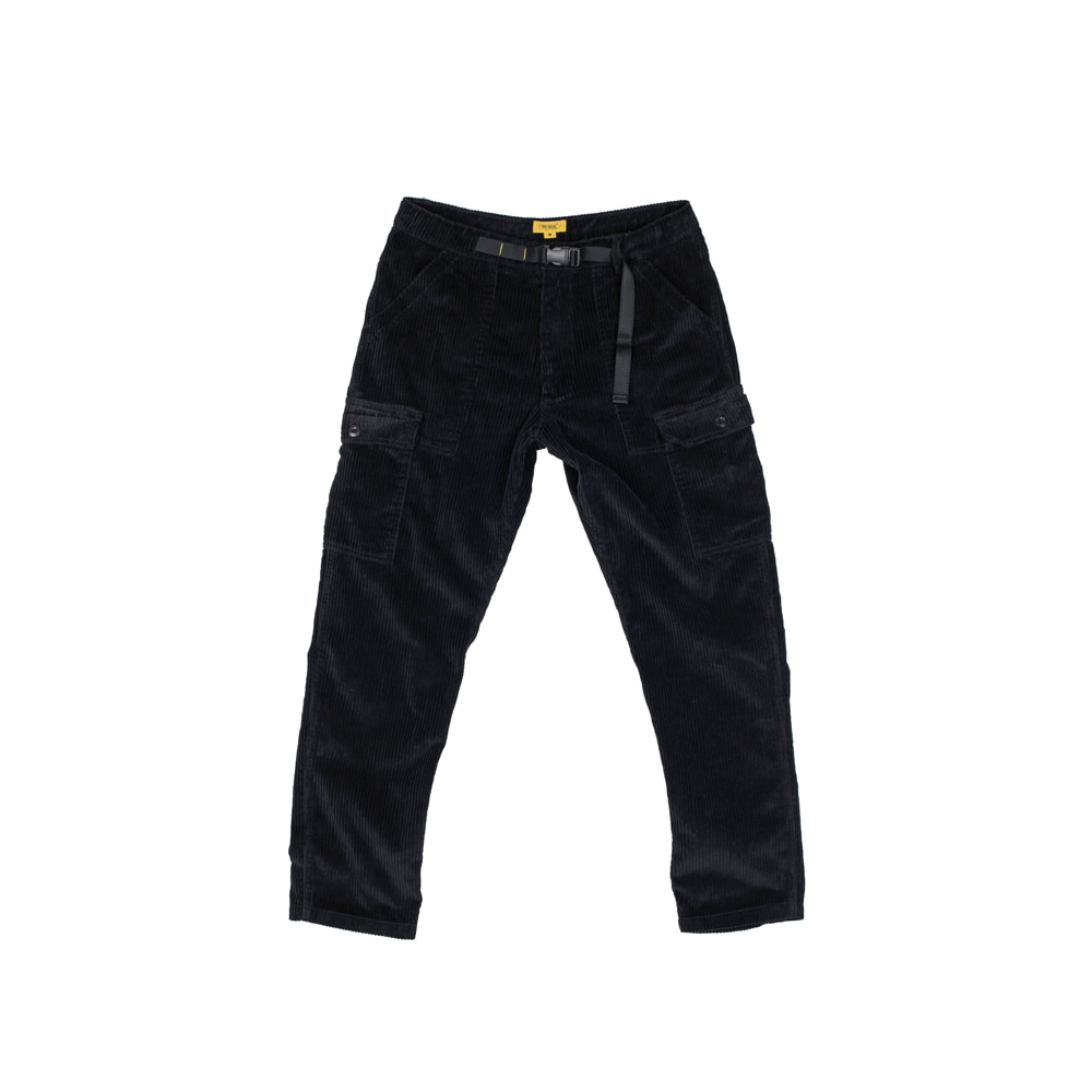 6W CORDUROY PAPA PANTS [BLACK]
