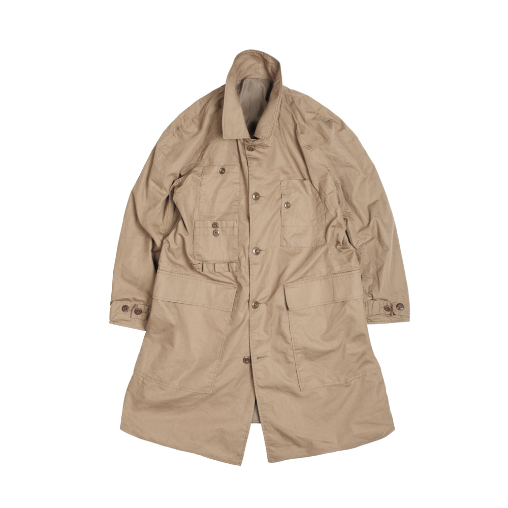 LAMBARENE SHOPCOAT [TAN BEIGE]