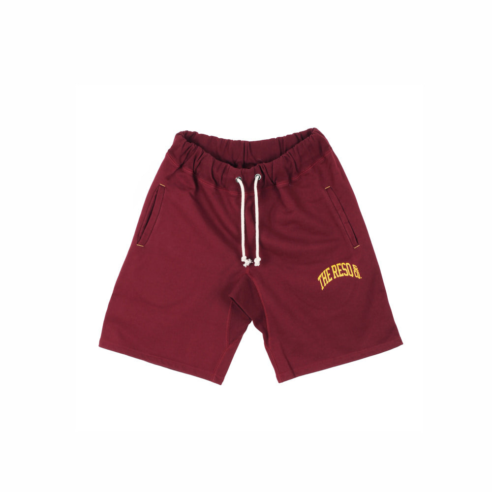 BALLGAME SHORTS [BURGUNDY]