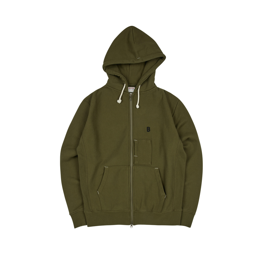 BALLGAME ZIP-UP [KHAKI]