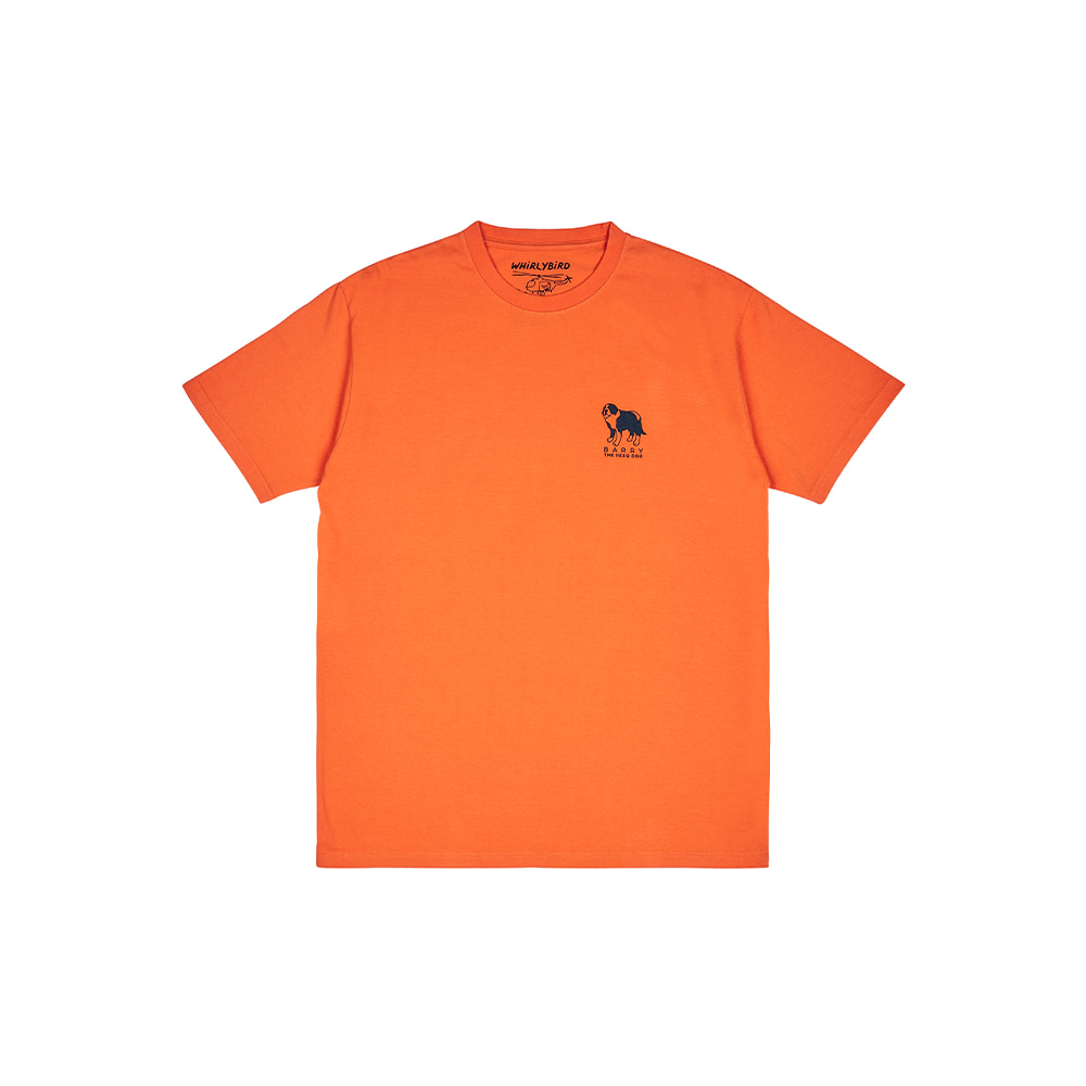 RESQ DOG BARRY TEE [ORANGE]