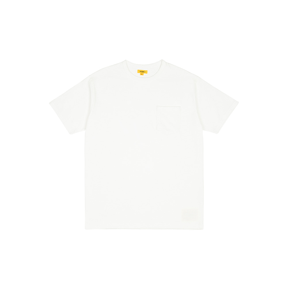 POCKET TEE [WHITE]