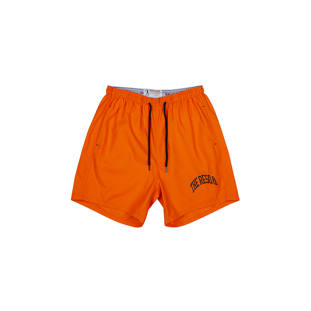 BALLGAME TRAINING SHORTS [ORANGE]