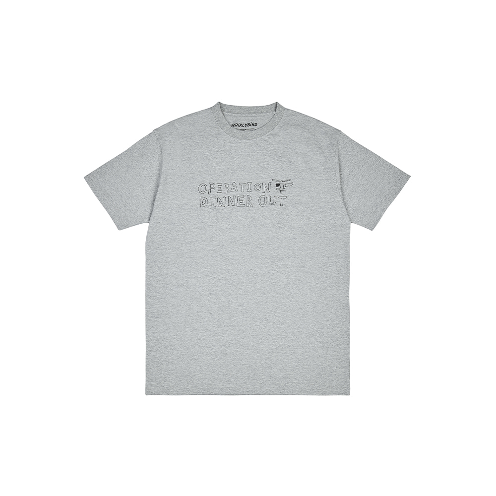 OPERATION TEE [MELANGE GREY]