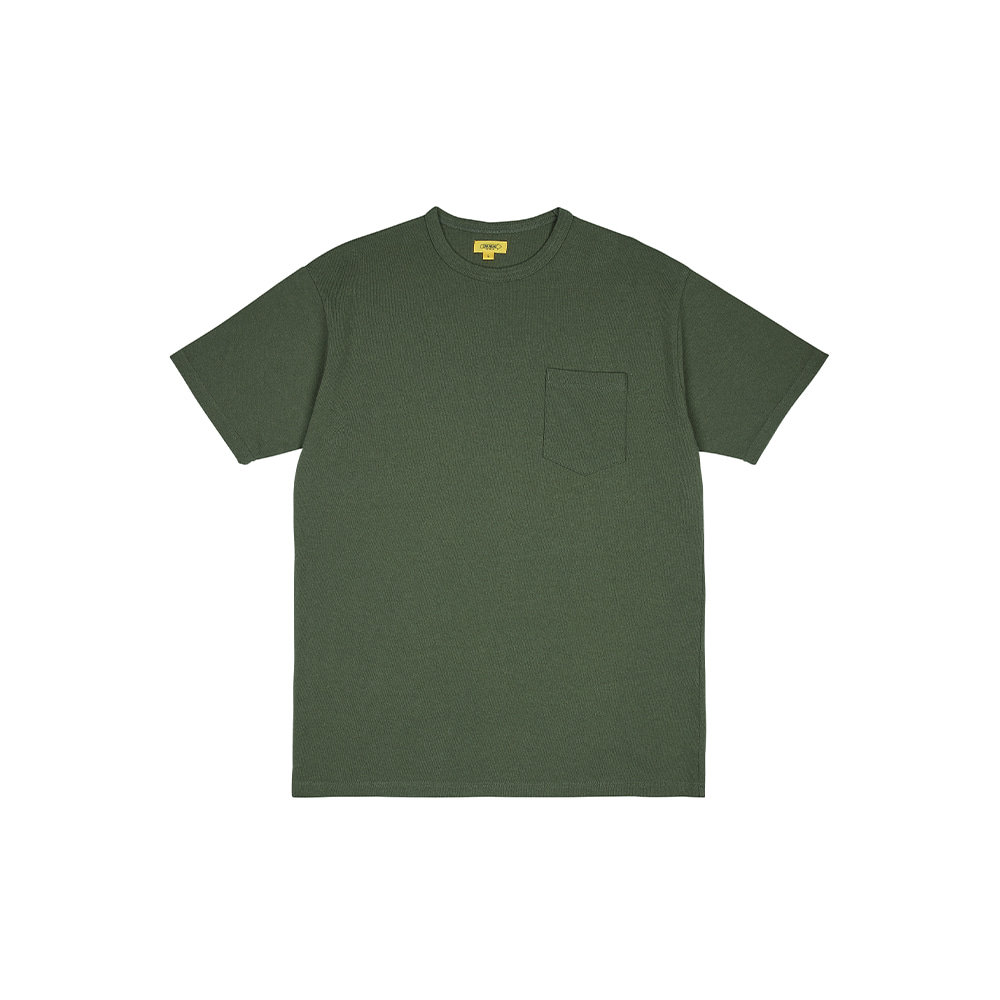 POCKET TEE [MOSS GREEN]