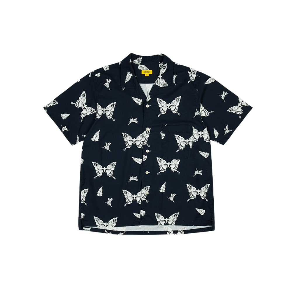 FLUTTERBY PAPA SHIRT [DARK NAVY]