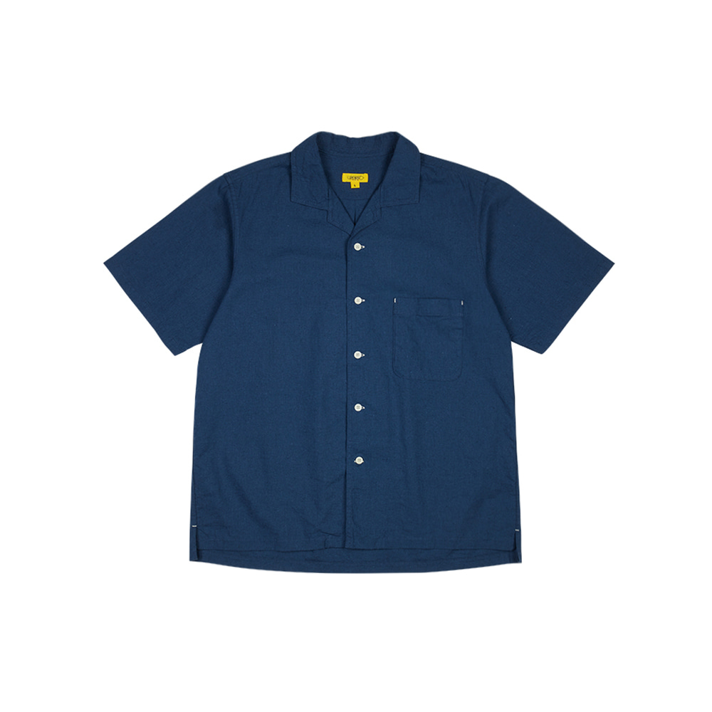 SEOKIA PAPA SHIRT [SEA BLUE]