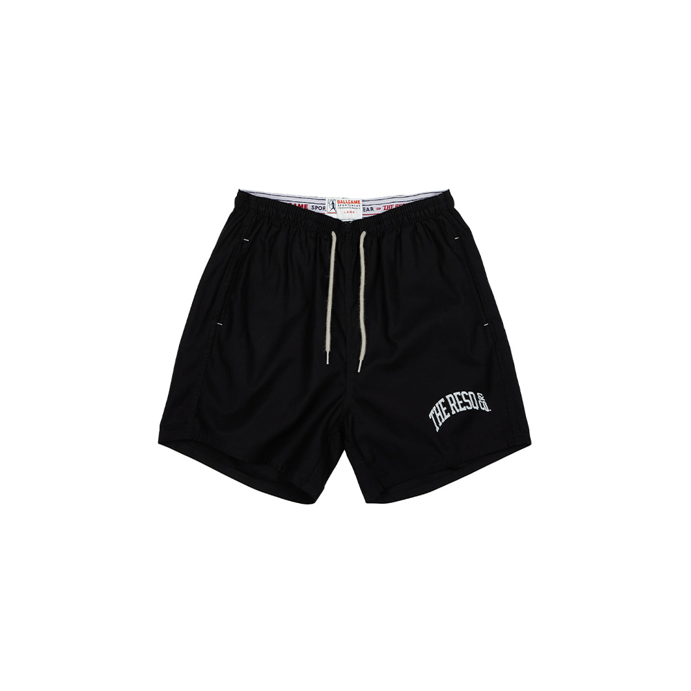 BALLGAME TRAINING SHORTS [BLACK]