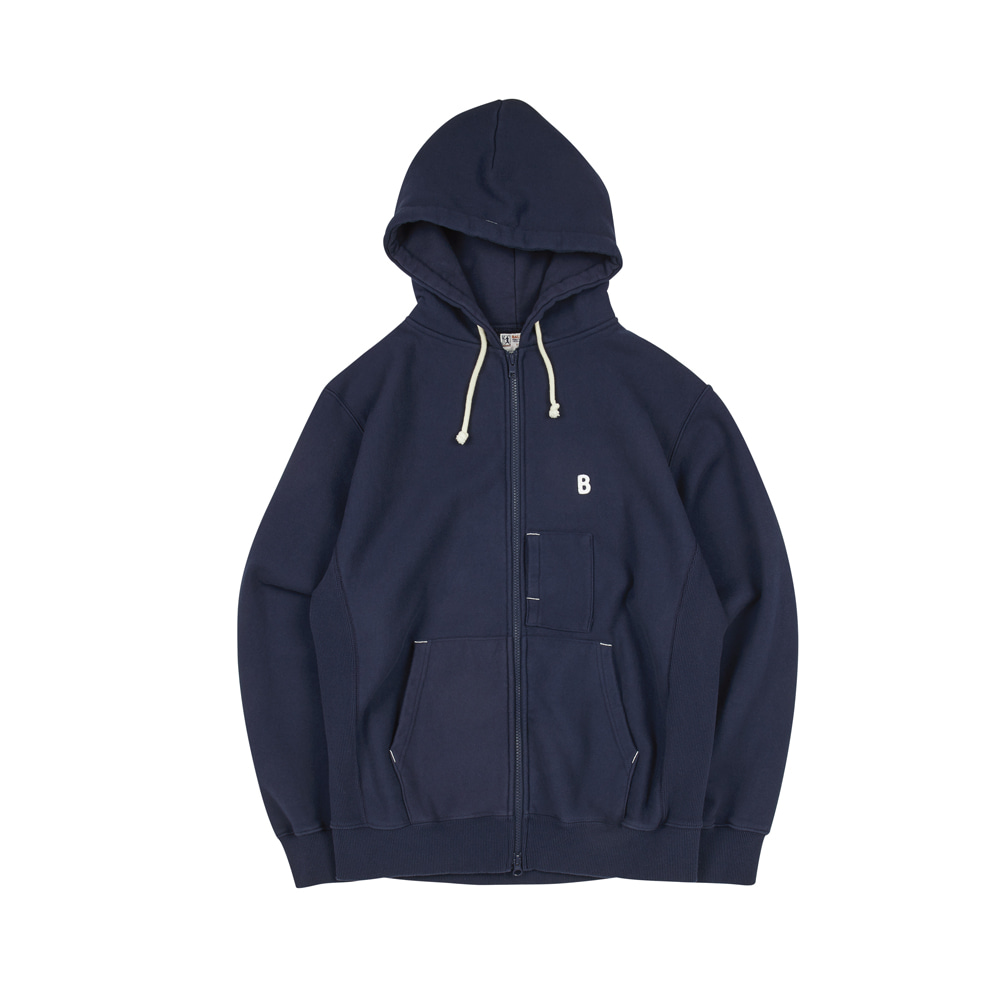 BALLGAME ZIP-UP [NAVY]