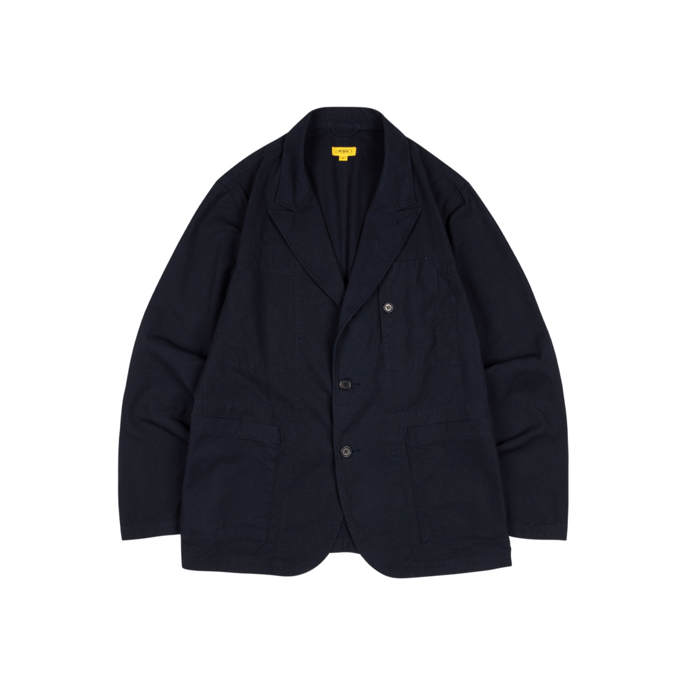 SEOKIA JACKET (BIO WASHED COTTON) [NAVY]