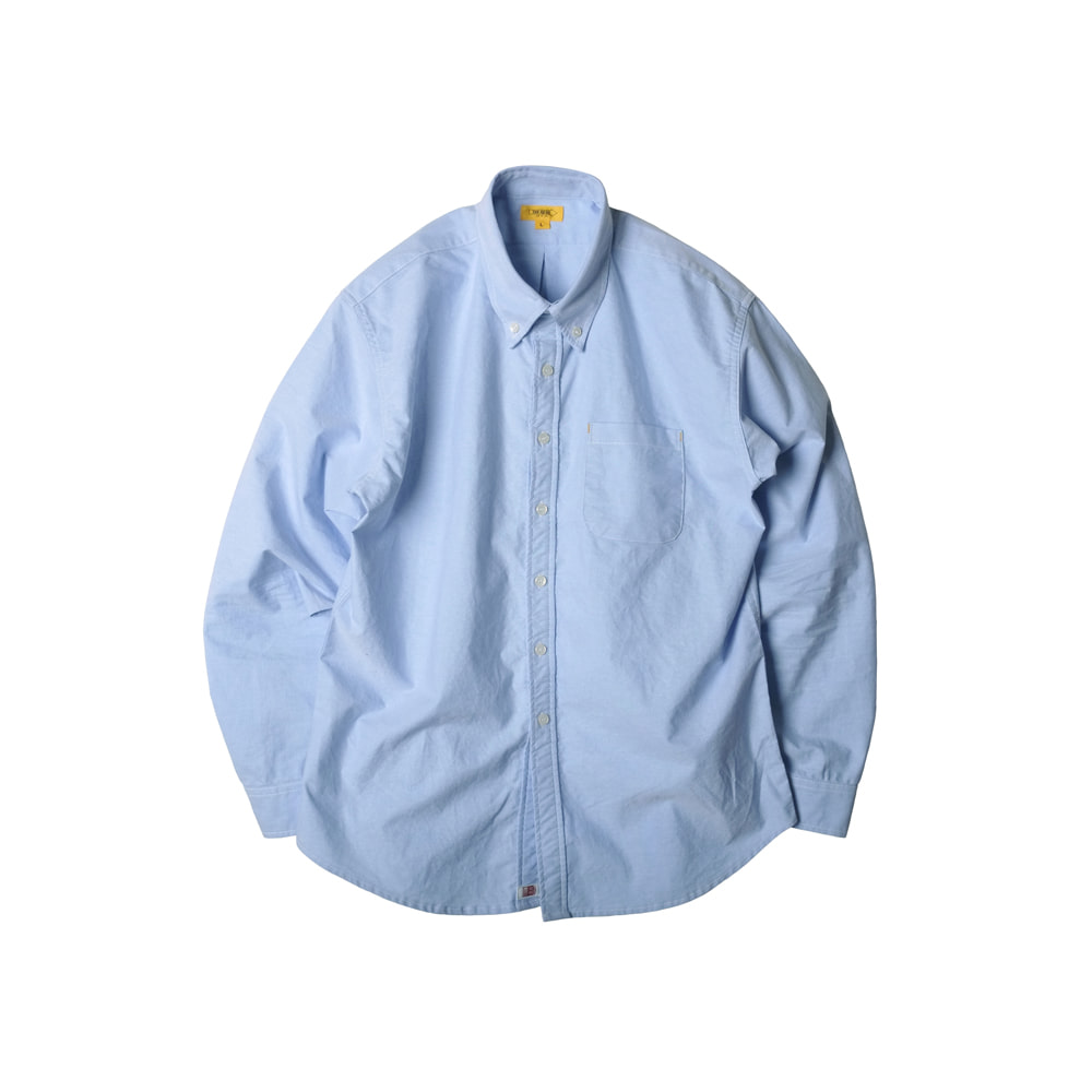 CRISPY B.D SHIRT [BLUE]