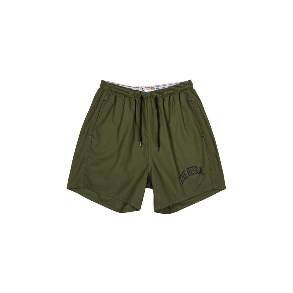 BALLGAME TRAINING SHORTS [OLIVE GREEN]