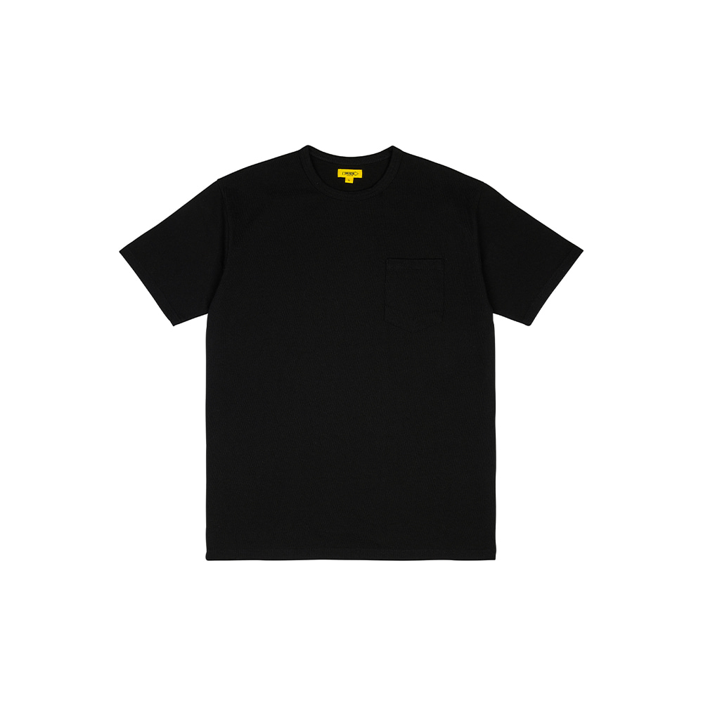 POCKET TEE [BLACK]