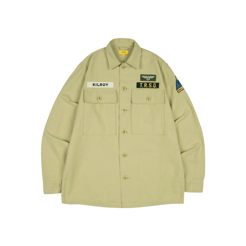 KILROY PATCH SHIRT [DESERT SAND]