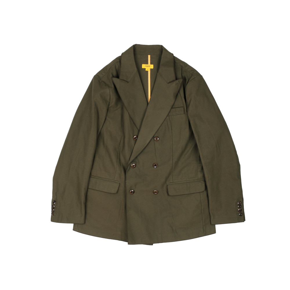 DOUBLE JOHN JACKET [KHAKI]