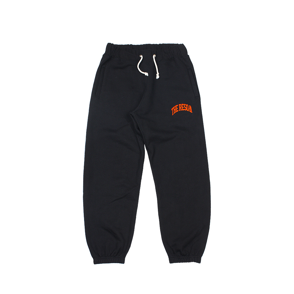 BALLGAME PANTS [BLACK-FLOCKING ORANGE]