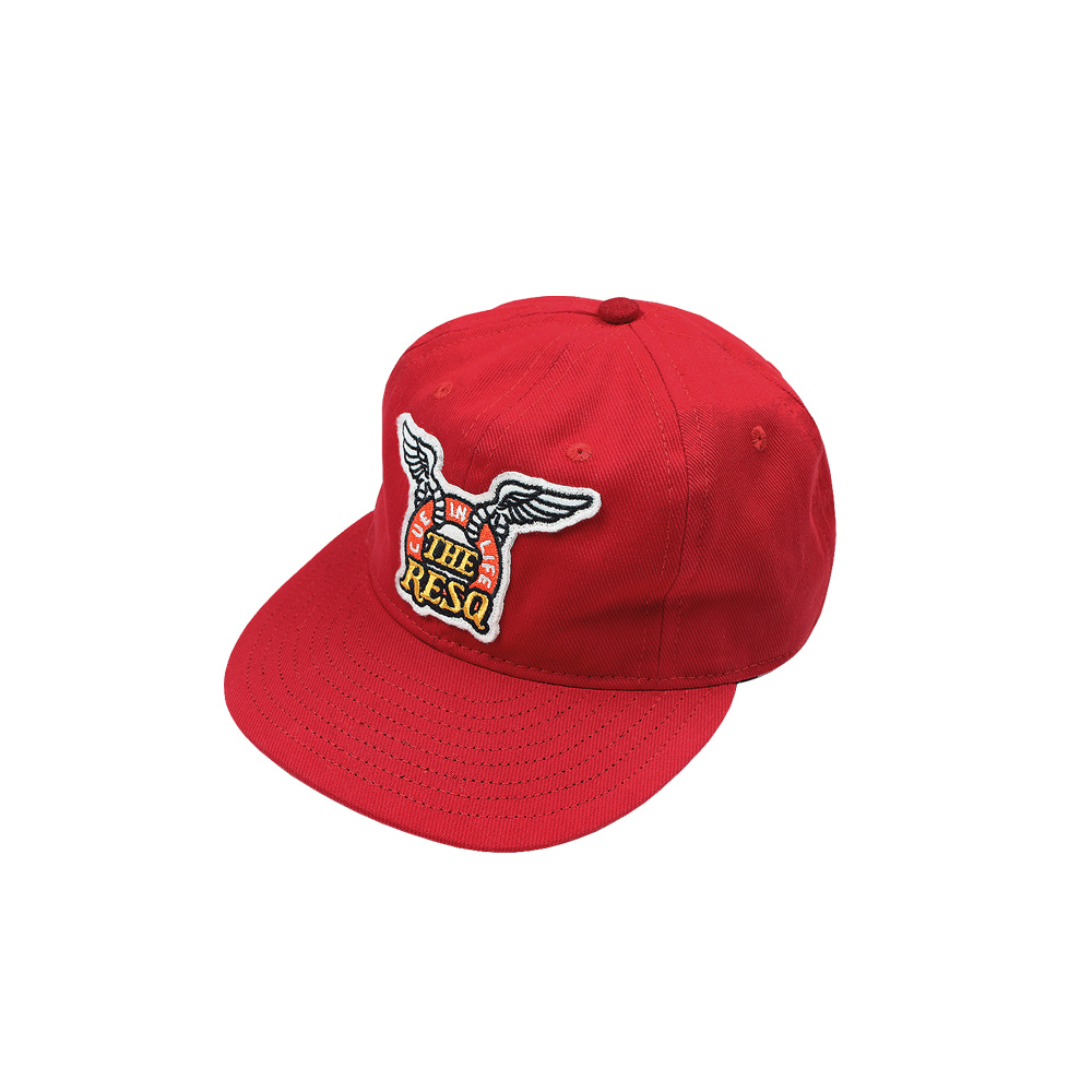 WING LOGO BALLGAME CAP(Feat. Ebbets Field Flannels) [BULL DENIM RED]