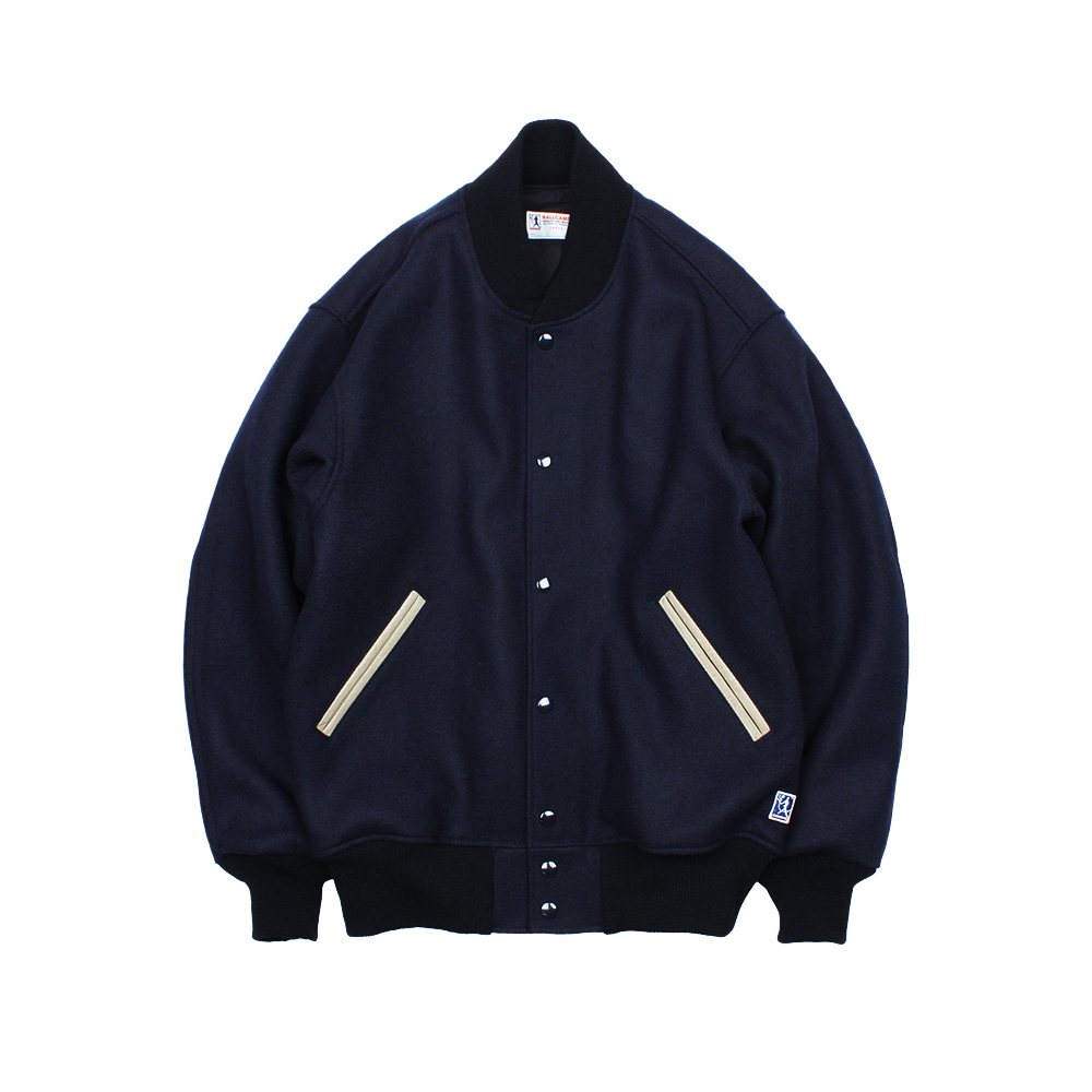BALLGAME JACKET [NAVY-LOGO APPLIQUE]
