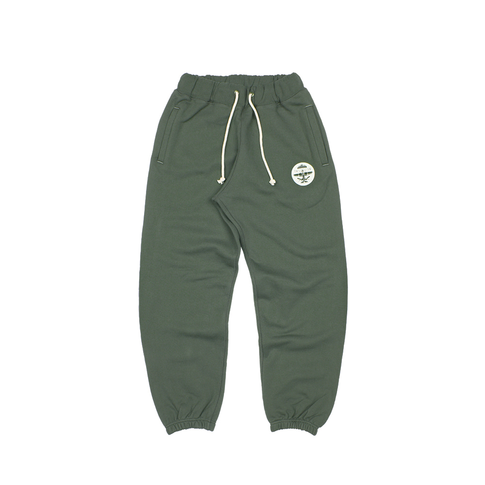 BALLGAME PANTS [DUSTY KHAKI-SEAL LOGO]
