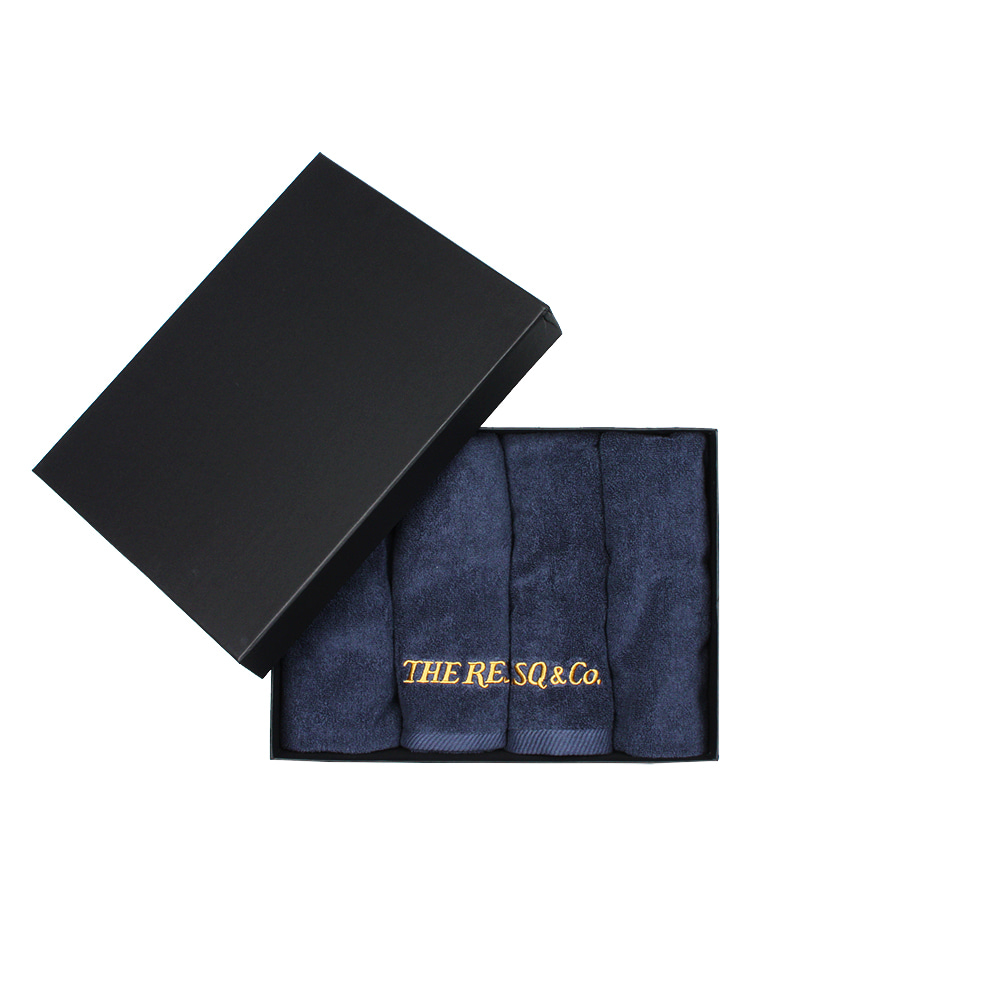LOGO EMBROIDERY TOWEL [NAVY]
